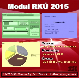 Software BOZP: MODUL RKÚ 2015 Upgrade